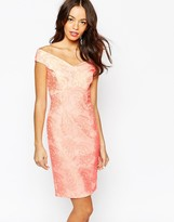 New Look Off The Shoulder Lace Bardot Dress