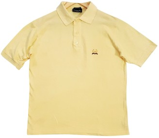 Christian Dior Yellow Cotton Polo shirts