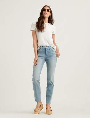 Lucky Brand Mid Rise Authentic Straight Jean