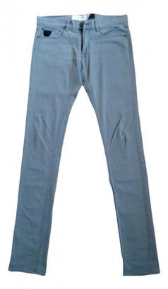 April 77 Grey Cotton Jeans for Women