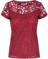 Alice & You **Alice & You Burgundy Lace T-Shirt