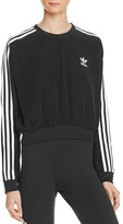 adidas Three Stripe Crop Sweatshirt