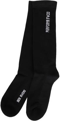 Rick Owens Performa Mid-Calf Socks