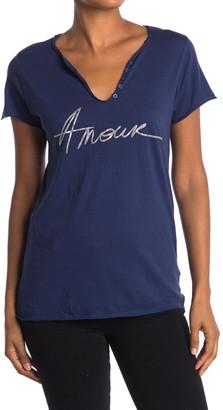 Zadig & Voltaire Tunisien Amour T-Shirt