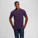 Merona Men's Pique Polo Shirt Purple