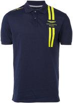 Hackett Aston Martin polo shirt - men - Cotton/Polyester/Spandex/Elastane - S