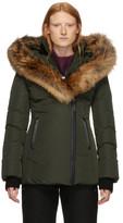 Mackage Green Down and Fur Classic Adali Parka
