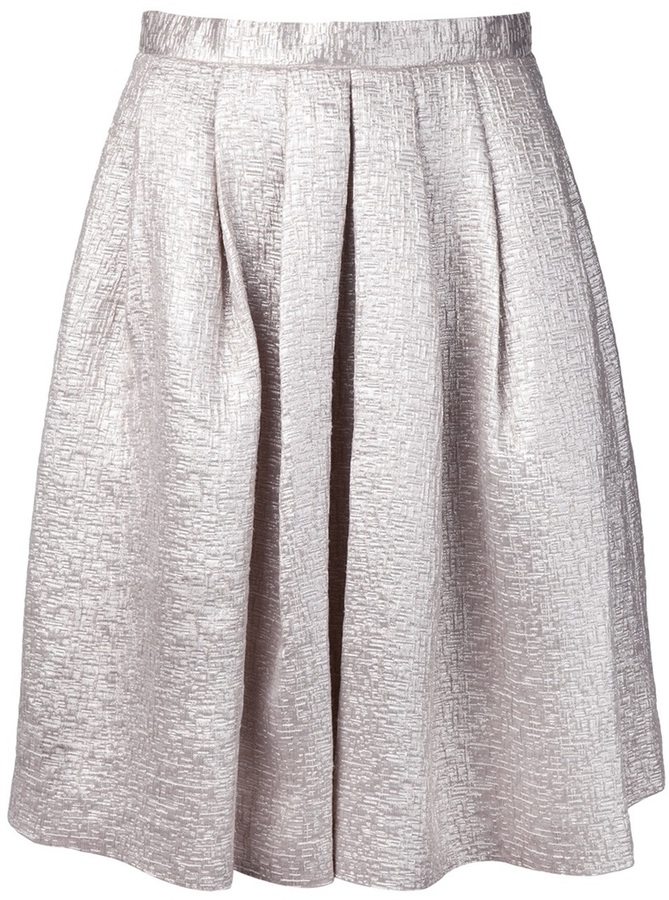 AR+ Ar midi tuck skirt