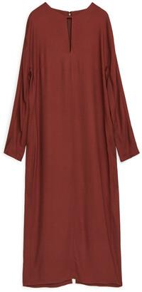 Arket Fluid Long Sleeve Dress