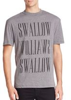McQ by Alexander McQueen Swallow Solid T-Shirt