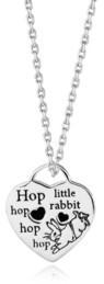 Rhona Sutton Beatrix Potter Heart Pendant Necklace