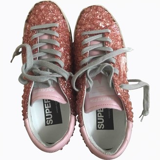 Golden Goose \N Pink Glitter Trainers