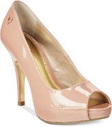 Thalia Sodi Cereza Peep-Toe Pumps, Only at Macy's