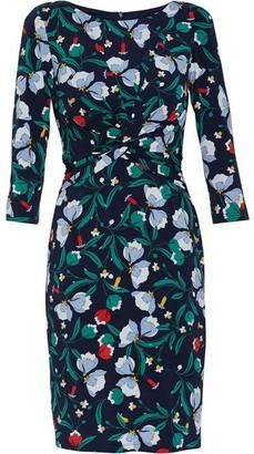 Gina Bacconi Print Jersey Dress