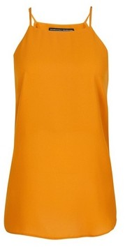 Dorothy Perkins Womens Yellow Camisole Top, Yellow