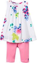 Joules Floral Top & Leggings Set - Pink, Size 12-18m