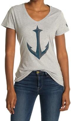 Wright & Ditson NHL Seattle Kraken Anchor Print T-Shirt
