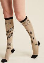 ModCloth I Get the Message Knee Socks - Size OS