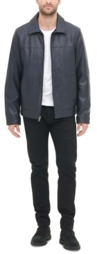 Tommy Hilfiger Men's Faux Leather Jacket