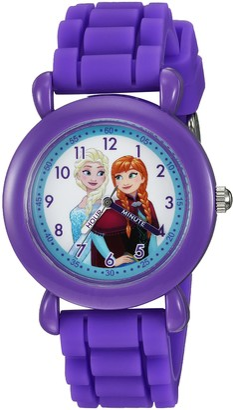 Disney Girls' Frozen Analog-Quartz Watch with Silicone Strap