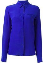 Maison Margiela chest pocket shirt - women - Silk - 46