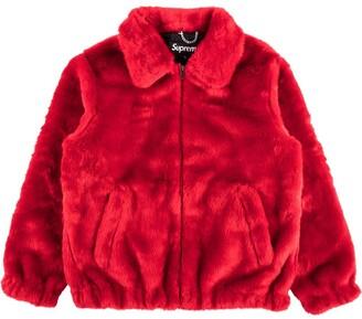 Supreme faux fur bomber jacket