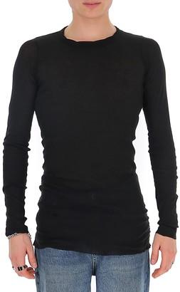 Rick Owens Longline Sheer T-Shirt