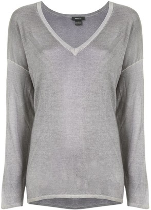 Avant Toi oversized V-neck sweater