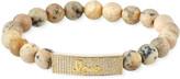 Sydney Evan 14k Diamond Love & African Opal Bracelet