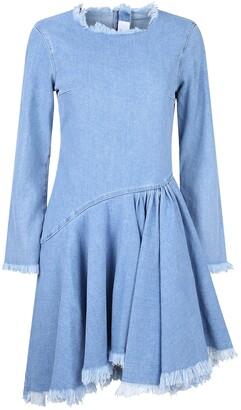 7 For All Mankind Denim Mini Dress