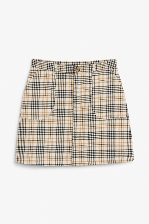 Monki A-line mini skirt