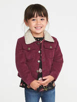 Old Navy Corduroy Sherpa-Lined Jacket for Toddler Girls