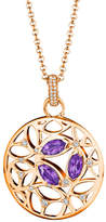 Di Modolo 18K Rose Gold Over Silver 0.23 Ct. Tw. Amethyst Necklace