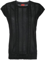 TOMORROWLAND crochet blouse