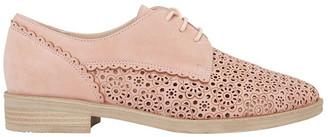 Easy Steps Nero Pale Pink Nubuck Flat Shoe