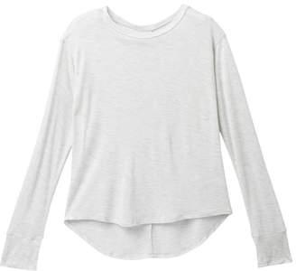 Zella Z by Peekaboo Long Sleeve Shirt (Little Girls & Big Girls)