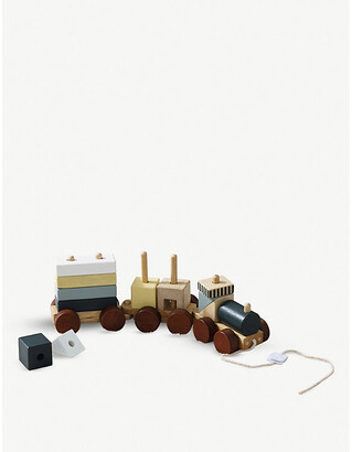 Selfridges Pull-along wooden train 36cm