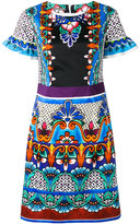 Alberta Ferretti printed dress - women - Cotton/other fibers - 42