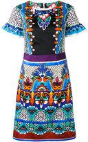 Alberta Ferretti printed dress - women - Cotton/other fibers - 48