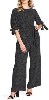 Cynthia Steffe CeCe by Puff Sleeve Cosmic Dot Jumpsuit