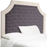 One Kings Lane Collection Queen Bristol Headboard, Navy Leopard
