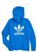 adidas Boy's Trefoil Graphic Hoodie