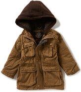 Urban Republic Little Boys 2T-7 Hooded Twill Jacket