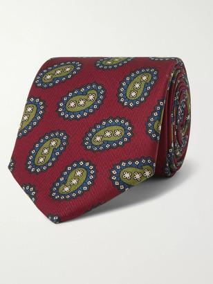 E.Marinella 8cm Paisley-Print Silk-Twill Tie
