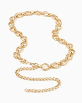 Charming charlie Oval Chain Belt