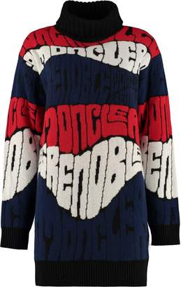 Moncler Intarsia Wool And Cashmere Sweater
