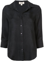 L'Agence scale textured shirt