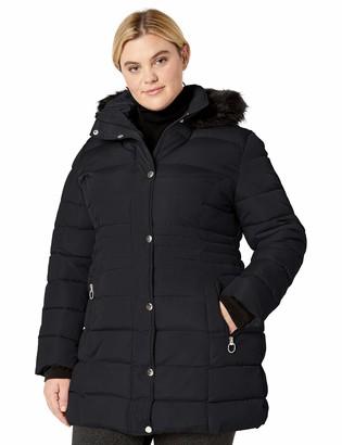 Big Chill Women's Faux Memory Puffer Coat