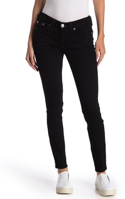 True Religion Halle Stretch Mid Rise Skinny Jeans