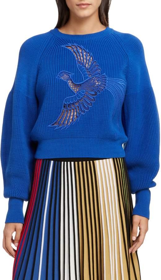 Kenzo Crochet Phoenix Sweater